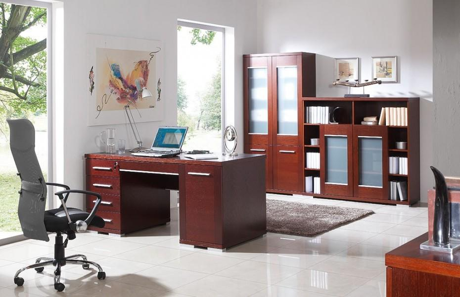 meble do pokoju z biurkiem
